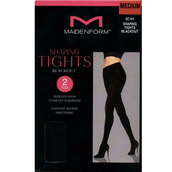 d65bb6e39eef4 Maidenform Intimates & Sleepwear | Womens Shaping Tights Blackout 2 ...